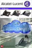 The complete line of Alcatel-Lucent  voice and data products