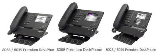 New ALU Preimum Deskphones, we have one to fit all business models....
